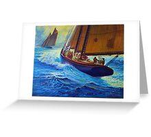 Men Of Gloucester Greeting Card