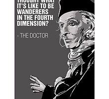 William Hartnell - The First Doctor by peopleinspandex