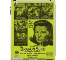 MGM's Dragon Seed - Yellow iPad Case/Skin