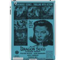 MGM's Dragon Seed - Blue iPad Case/Skin
