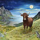 Painting Taurus by ienemien