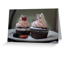 Chocolate Cupcakes Greeting Card