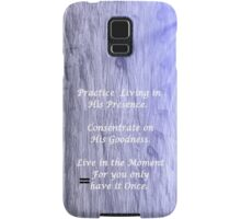 YOU GET MORE OF WHATEVER YOU VALUE Samsung Galaxy Case/Skin