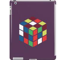 Rubik's Cube - Neon iPad Case/Skin