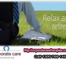 Benefits of Corporate Massage- Office Massage- Workplace Massage Therapy by javierwaltz