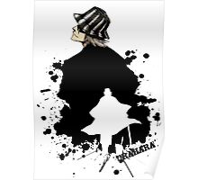 Silhouette  Shop owner  Poster