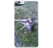 laying around iPhone Case/Skin