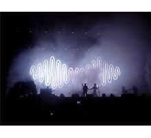 Arctic Monkeys in concert Photographic Print
