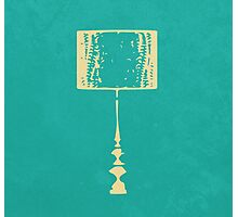 L for Lamp Photographic Print