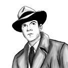 Dana Andrews by Paradoxthis