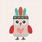 Hipster Owlet Cream by daisy-beatrice