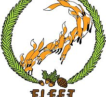 A Fleet of Foxes by Steph Hodges