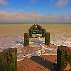 Groyne at the North Beach Bridlington by Paul Bettison