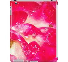Rose petals in the rain iPad Case/Skin