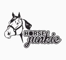 Horse junkie Kids Clothes