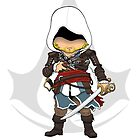 Assassin's Creed 4: Black Flag Edward Kenway Chibi by SushiKittehs