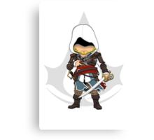 Assassin's Creed 4: Black Flag Edward Kenway Chibi Canvas Print