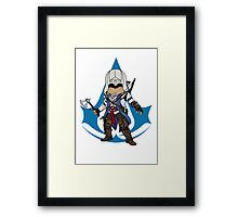 Connor Kenway Chibi: Assassin's Creed 3 Framed Print