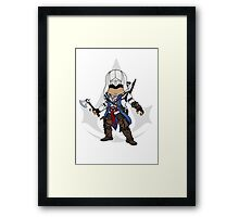 Assassin's Creed 3 Chibi Connor Kenway Framed Print