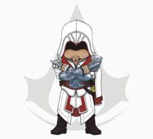 Assassin's Creed Brotherhood Chibi Ezio Auditore T-Shirt