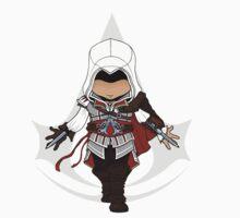 Assassins Creed 2 Chibi Ezio Auditore da Firenze T-Shirt
