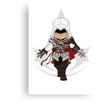 Assassins Creed 2 Chibi Ezio Auditore da Firenze Canvas Print