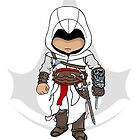 Assassins Creed Chibi Altaïr Ibn-La'Ahad  by SushiKittehs