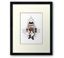 Assassins Creed Chibi Altaïr Ibn-La'Ahad  Framed Print