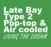 Late Bay Pop Type 2 Pop Top White Kids Clothes