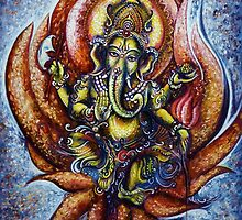 Lord Ganesha 1 by Harsh  Malik