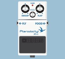 Pterodactyl Delay Pedal Kids Clothes