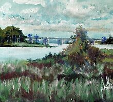 View from Sturgeon City Park by Jim Phillips