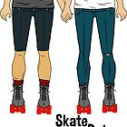 Skate Date - Male + Male by Goldenunicorn