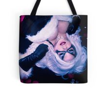 Black Cat Spidey box Tote Bag