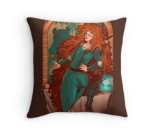 Chase the Wind Throw Pillow