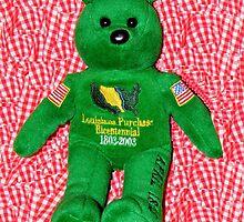 The HISTORY Bear by WildestArt
