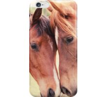 Jazz and Luc iPhone Case/Skin