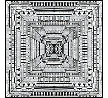 Line carpet Photographic Print