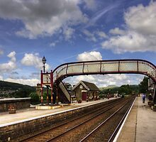 Settle Railway Station by Tom Gomez