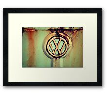 The incomparable VW...Thing Framed Print