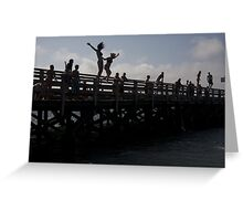 Jumpers Greeting Card