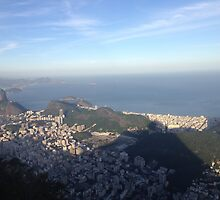 Cristo's view of Rio by omhafez