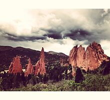 Garden of the Gods, Denver by omhafez