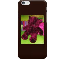 Funky Teddy Bear iPhone Case/Skin