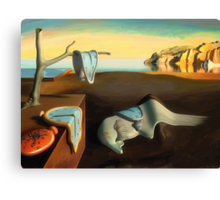 Persistence of Memory Canvas Print