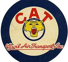 CAT - Civil Air Transport Cursive by celticanam