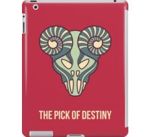 The pick of destiny iPad Case/Skin