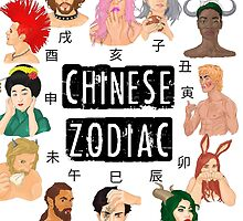 Chinese Zodiac  by awakuroi