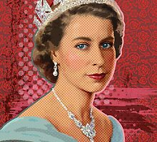 Queen Elizabeth II by Everett Day