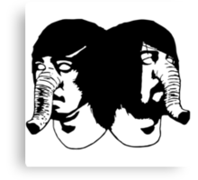 Death From Above 1979 Canvas Print